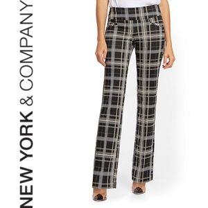 EUC {NY & COMPANY} Whitney Ponte Pull-On Pant